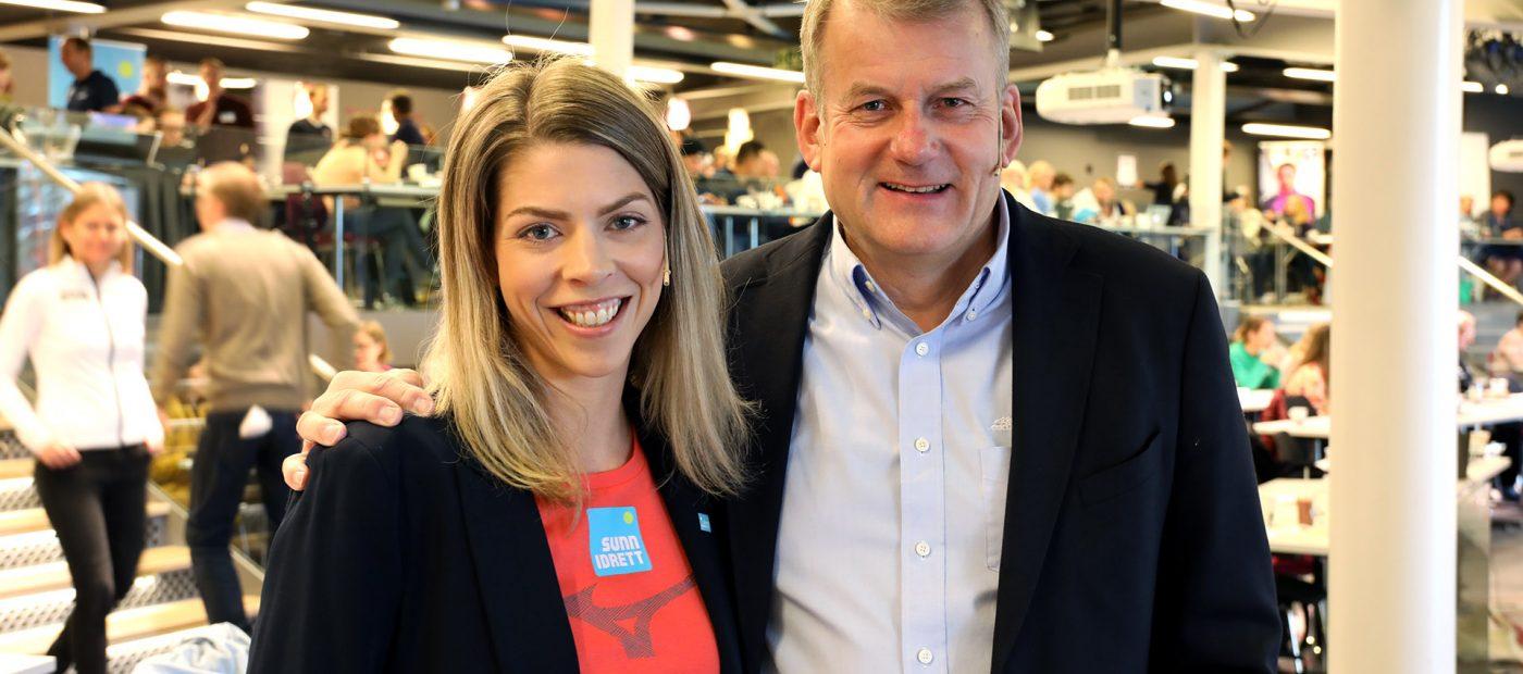 Marianne Strand-Udnæseth og Erik Røste